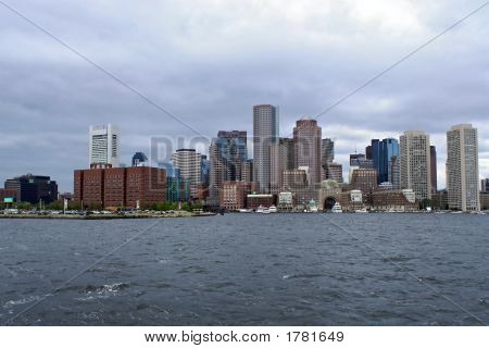 Skyline von Boston Harbor