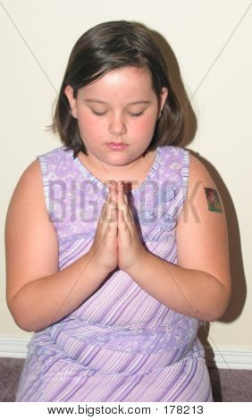A Child Praying
