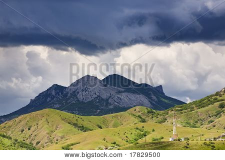 Clouds Above Mountains
