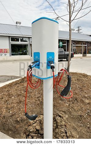 Charge Point For Electric Car