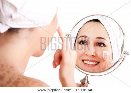 Facial Skincare Anti-ageing Exfoliation