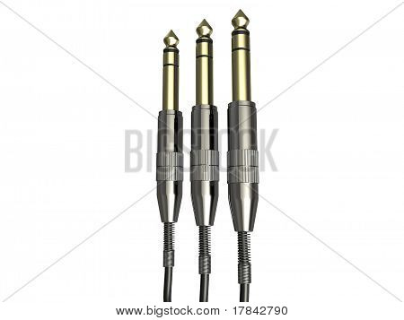 3.5mm Gold Audio Jack