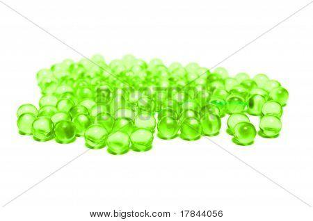 Green capsules