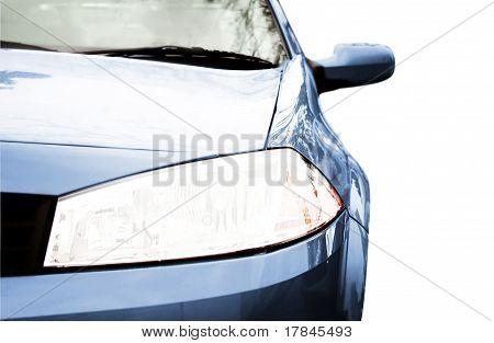 Sport Car - Front Side, Half