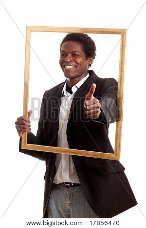 Black Businessman Picturefram