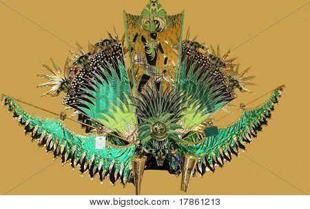 Elaborate Carnival Headdress