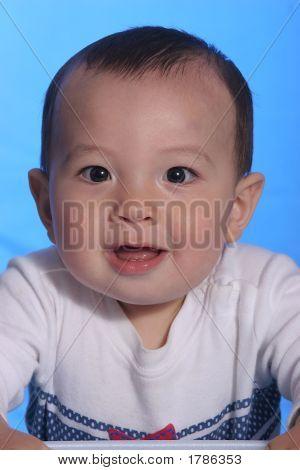 A Cute Little Baby Boy.