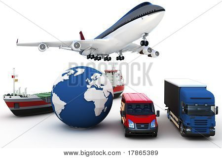 3D Global Cargo Transport Concept