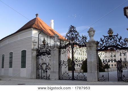Old Castle In Hungary