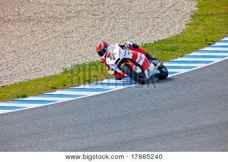 Stefan Bradl Pilot Of Motorcycling Of Moto2 In The World Championship Of Motogp