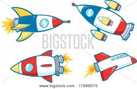 Vector Illustration of Outer Space