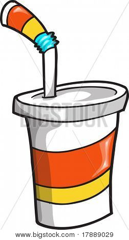 Soda Cup Vector Illustration