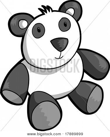 Panda Bear Vector Illustration