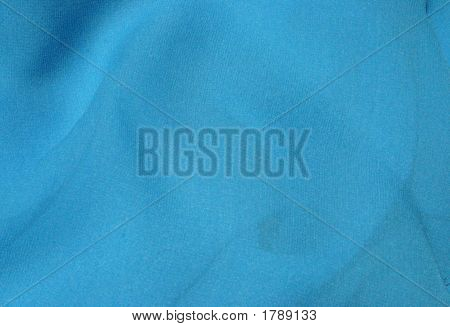Aqua Blue Abstract Fabric