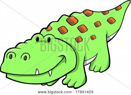 crocodile Vector Illustration