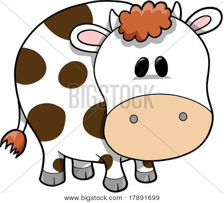 Cow Vector Illustration