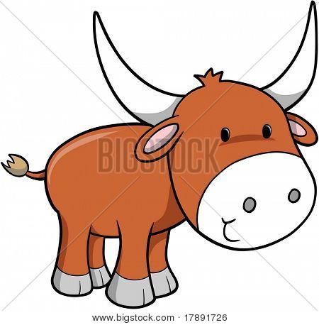 Ox Vector Illustration