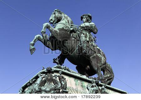 Prinz Eugen At Heldenplatz, Vienna