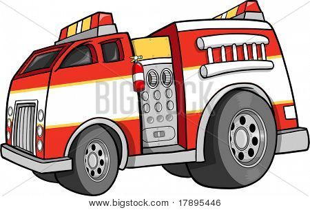 Firetruck Vector Illustration