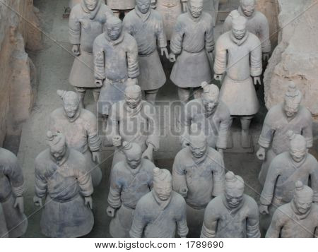 China'S Terra-Cotta Warriors
