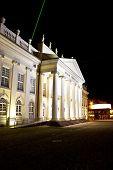 Nightly landmark Fridericianum in Kassel, Germany poster