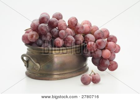 Red Grape In The Tub