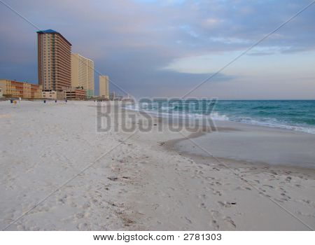 View Panama City Beach Coastline And Gulf Of Mexico