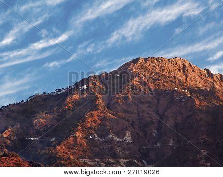 Dawn On Vaishnoo Devi Himalayas Katra