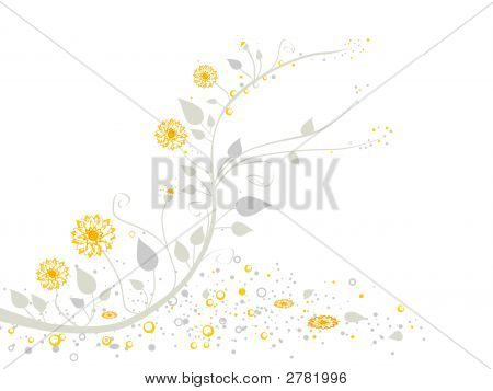 Abstract Floral Design