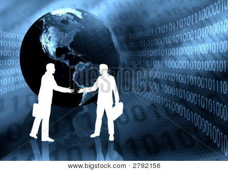 Ebusiness Handshake
