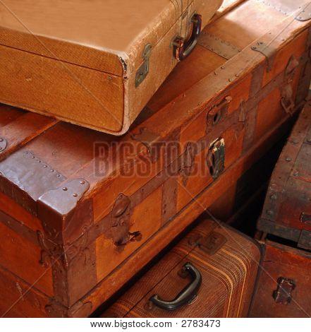 Antique Travel Trunks