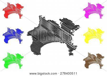 Kanagawa Prefecture administrative Divisions Of