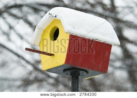 Shelter In Snowstorm