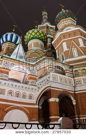 St.Basil's Cathedral on Red Square, Moscow