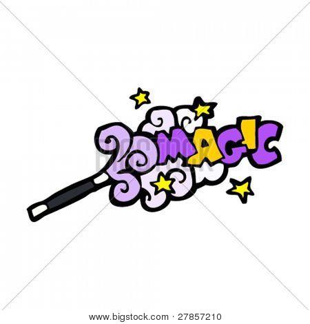 magic wand cartoon