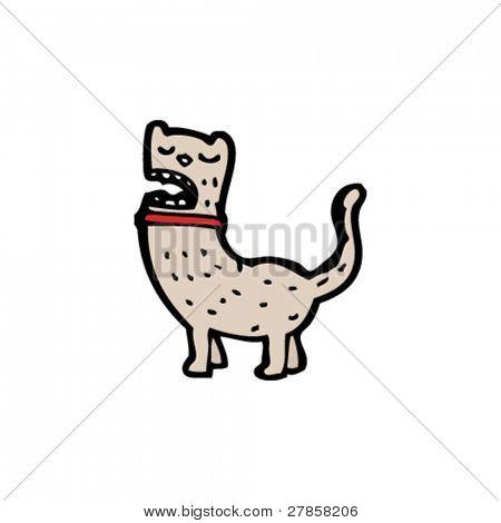 snooty cat cartoon