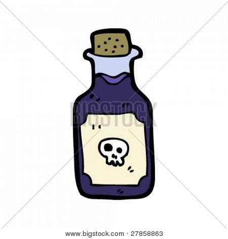 Vector y foto Dibujos Animados De La Botella De  Bigstock
