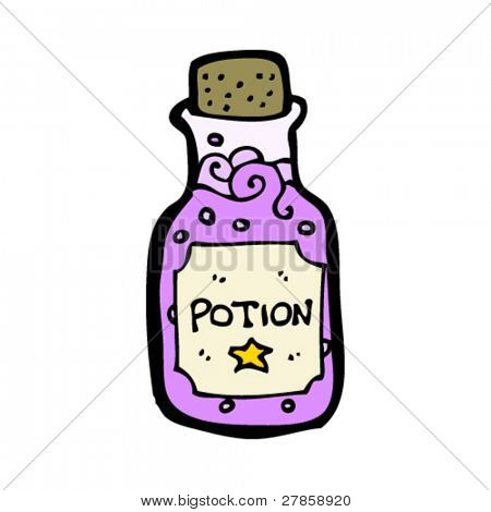 magic potion cartoon