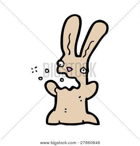 belching bunny carton