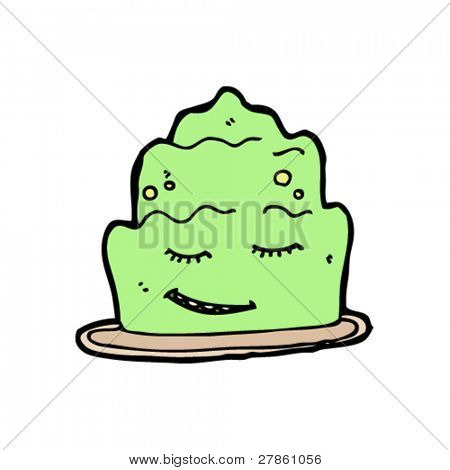 happy jelly cartoon