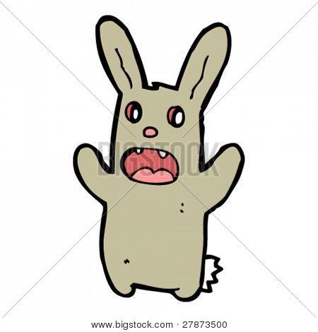 scary bunny cartoon