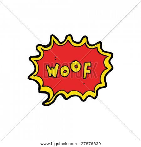 woof cartoon