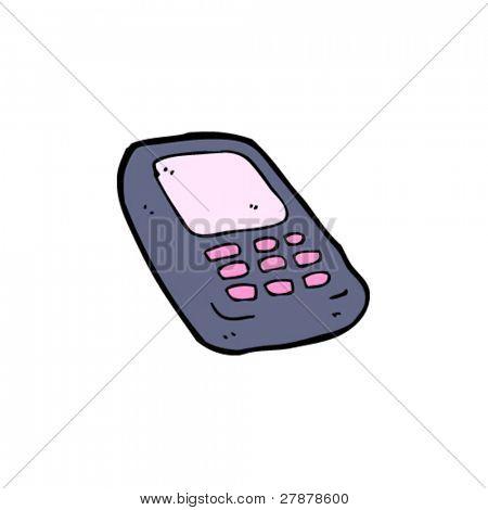 mobile phone cartoon