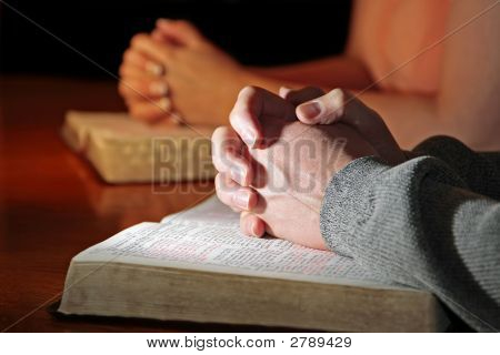 Praying Hands Couple