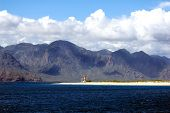 picture of cortez  - Lighthouse point in the Bay of the Dead - JPG