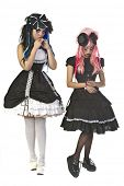 image of lolita  - Beautiful and dark Gothic and Lolita doll characters - JPG