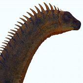 Alamosaurus Dinosaur 3d Illustration - Alamosaurus Was A Titanosaur Sauropod Herbivorous Dinosaur Th poster