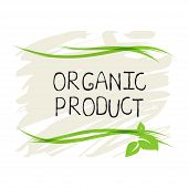 Organic Product Label And High Quality Product Badges. Bio Pure Healthy Eco Food Organic, Bio And Na poster