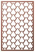 Vector Template Laser Cut Panel. Inspired By Chinese And Japanese  fish Scale Motif For Decorative poster
