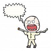 pic of madman  - cartoon doodle madman - JPG
